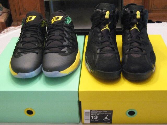 Nike air jordan vi 6 - brasile - sz 13 ds della coppa del mondo di sigaro 688447-920