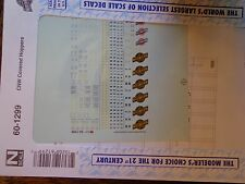Microscale Decal N  #60-1299 Chicago North Western Covered Hoppers-FMC 4700 cu.f