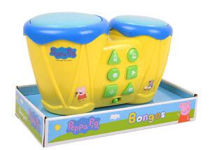 Peppa Pig Wutz Bongos Trommeln Schlagzeug Kinder Spielzeug ...