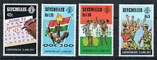 Seychelles 1978 liberación día SG 424/7 estampillada sin montar o nunca montada