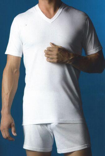 Camiseta abanderado manga corta cuello en pico art.508