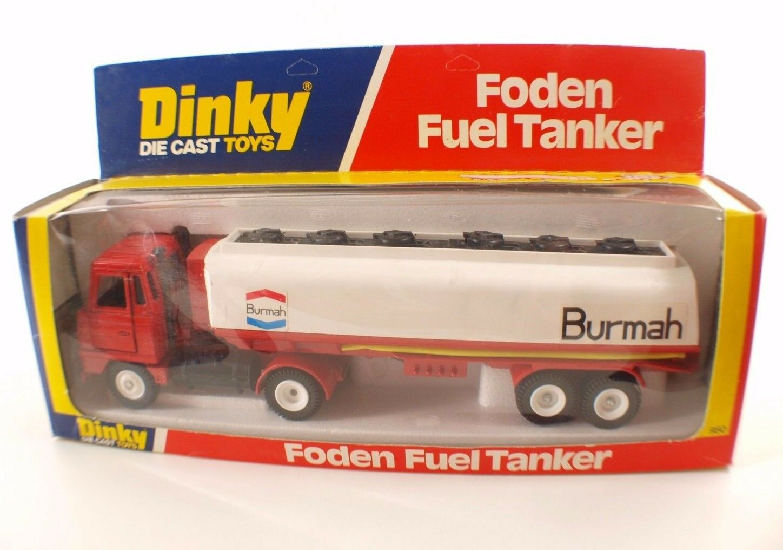 Dinky juguetes gb nº 950 remolque Foden Tank Burmah camiones