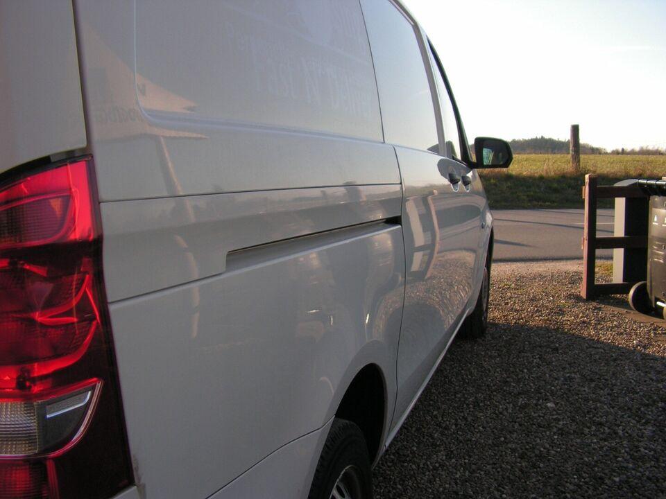 Mercedes Vito 114 2,2 CDi Basic L d Diesel modelår 2015 Hvid
