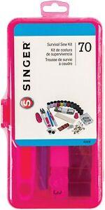 Singer Notions Singer Exclusive Survival Sew Kit 70/Pkg-Pink