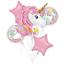 MAGICAL-UNICORN-Birthday-Party-Range-Tableware-Balloons-Supplies-Decorations miniatuur 23