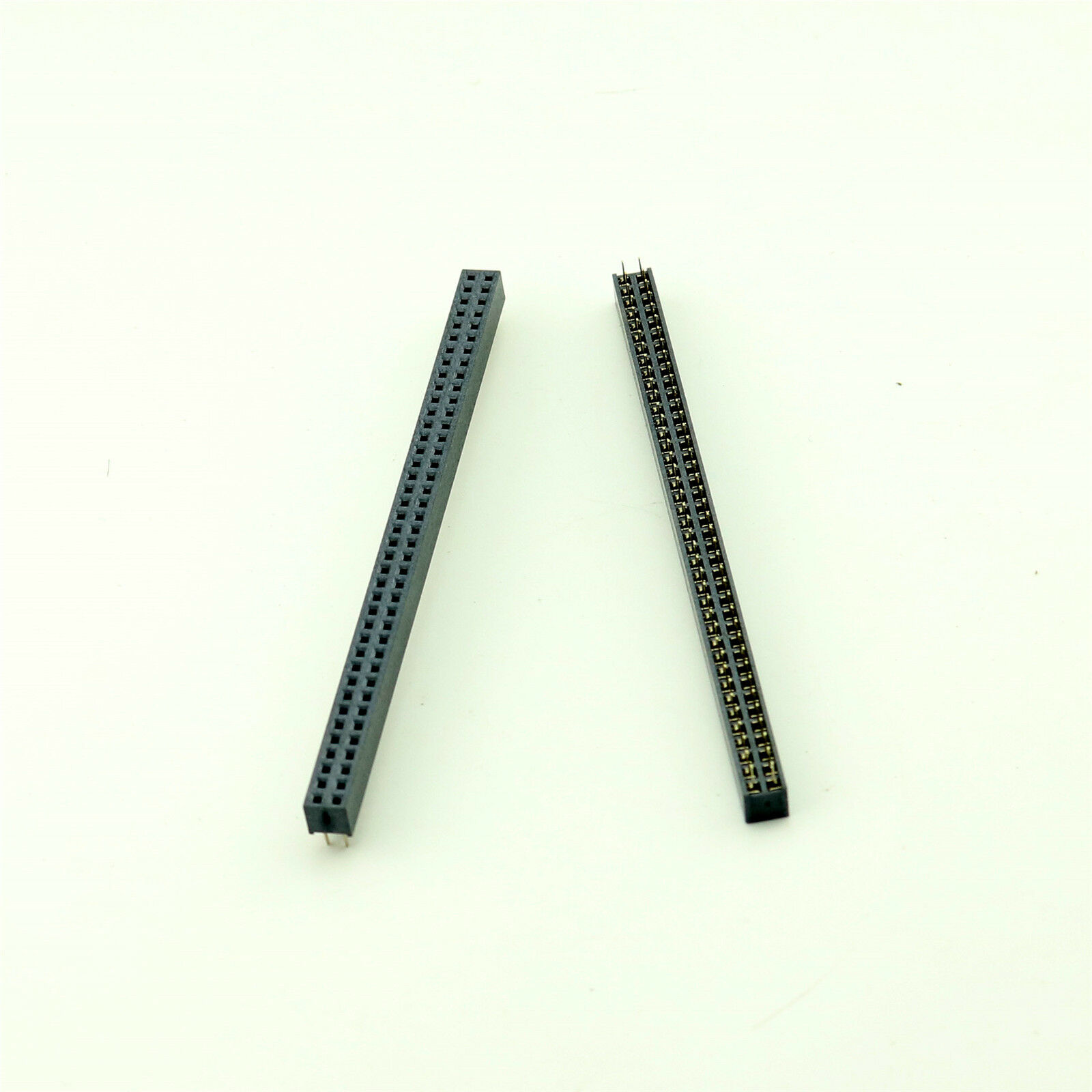 Pin Strip 1,27mm Pin 30 THT Male pin Straight 2x15 DS1031-06-2*15P8BV-4