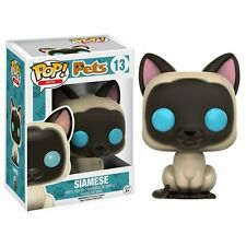 "Siamese Cat Funko Pets Cat Animal Pop 3.75"" Vinyl Figure"