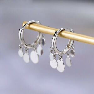 Round-Disc-Tassel-Earrings-Drop-For-Women-Girls-Gift-Simple-Hoop-Earrings-Trendy