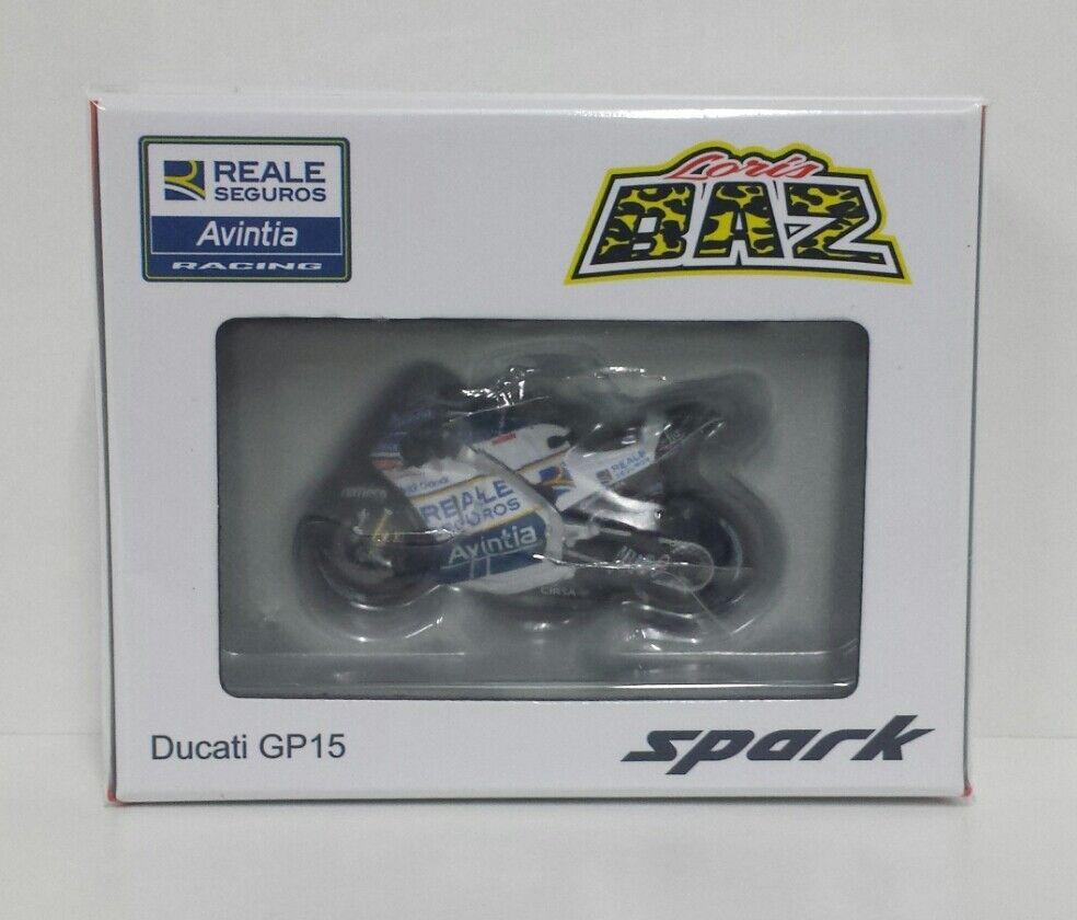 SPARK 1 43 LORIS BAZ MODEL MOTOGP DUCATI GP15 TEAM ASIA TEAM GP QATAR 2017 NEW