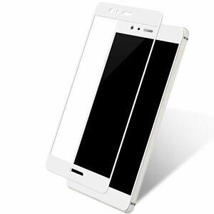 Huawei-Honneur-9-3D-Blinde-Verre-de-Protection-Film-Veritable-9H-Etui-Blanc