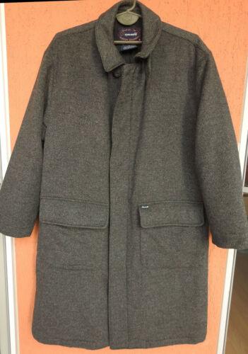 FACONNABLE Albert Goldberg Mens Tweed Wool Long Co