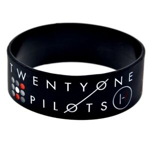 25mm-Silicon-Rubber-Wristband-Twenty-One-Pilots-21-Pilots