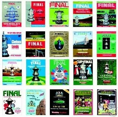 FA Cup Final Trading Card Set Vol III