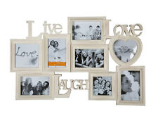 Live Laugh Love Cornice per 8 foto immagini Gallery Galleria Photo Collage