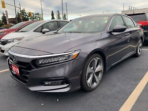 2019 Honda Accord Touring 2.0 Leather Navi Sunroof No Accidents