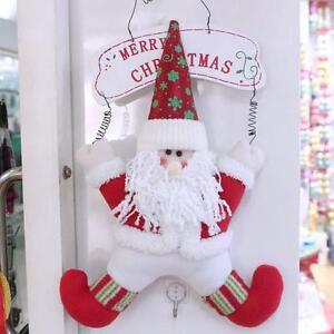 Moderno-Lindo-Navidad-Papa-Noel-Ano-Nuevo-Puerta-de-Casa-Adornos-Decoracion