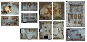 Dwarven-Dungeon-Tiles-Set-A-Digital-Download-D-amp-D-RPG-Dragons-Dnd-Pathfinder
