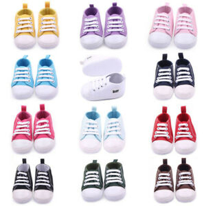 Toddler-Infant-Baby-Boy-Girl-Soft-Sole-Crib-Shoes-Sneaker-Newborn-0-to-12-Months