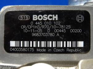 Neue Bosch 0445010102 Einspritzpumpe f. Citroen Fiat Ford Peugeot 1.6 HDI/D/TDCi