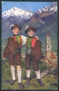 Bolzano-Merano-Costumi-cartolina-ZT9136