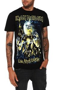 IRON-MAIDEN-Live-After-Death-T-Shirt-Neuf-sous-licence-amp-OFFICIEL-RARE