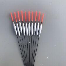 10 X Slim Chianti  Foam Body Pole Floats 0.4g Strong Carbon Stem Silvers F1 Carp