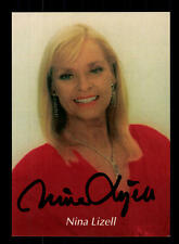 Nina Lizell Autogrammkarte Original Signiert ## BC 92139