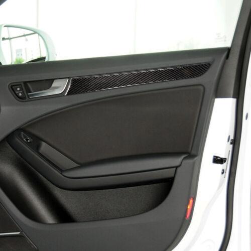 Carbon Fiber Interior Door Panel Sticker Trim for Audi A4 B8 Typ 8K A5 8T3 8F7