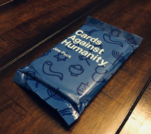 Jew Pack Expansion Set New Great Stocking Stuffer Cards Against Humanity