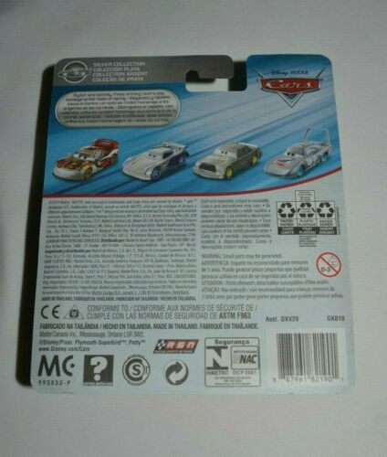 DISNEY PIXAR CARS  SILVER COLLECTION TIM TREADLESS # 28