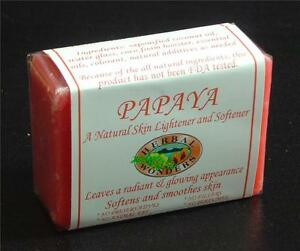 PAPAYA Skin Whitening Organic Papaya Soap Herbal Soap | eBay