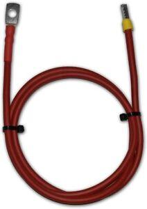 Batteriekabel KFZ Kabel 50 mm² schwarz Ringösen//Kabelschuhe M8//M10//M12-50mm2