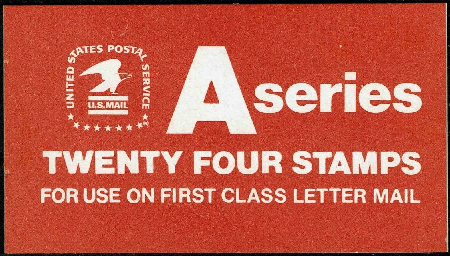 "1978 15c ""A"" & Eagle, Booklet of 20 Scott 1736a Mint F/"
