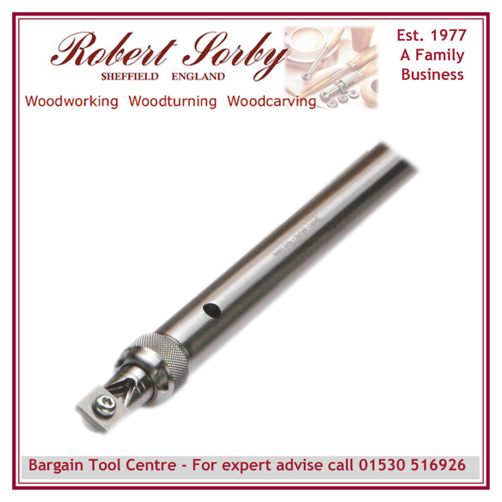 ROBERT SORBY RSTM-SCT3 Turnmaster Shank with Square Tungsten Carbide Cutter