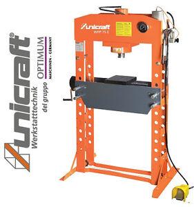 Pressa idraulica per officina con comando manuale for Pressa usata per officina