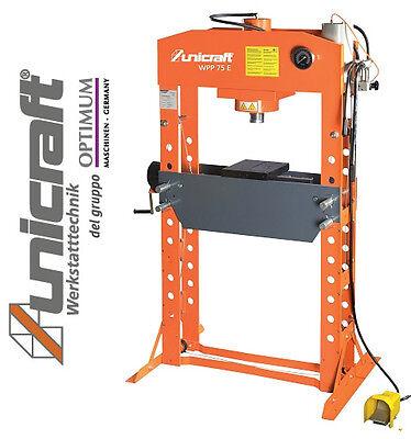 Pressa idraulica per officina con comando manuale for Pressa idraulica per officina