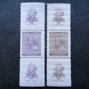 Germany-Nazi-1941-Stamps-MNH-Third-Reich-WWII-Deutschland-Bohemia-amp-Moravia-B-amp-M