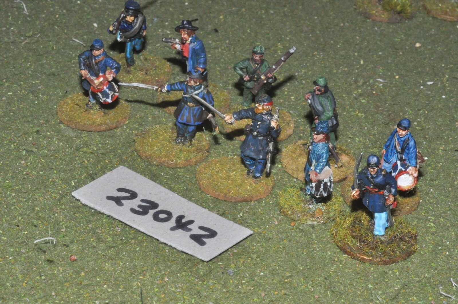 25mm ACW   union - markers 10 figures - inf (23042)