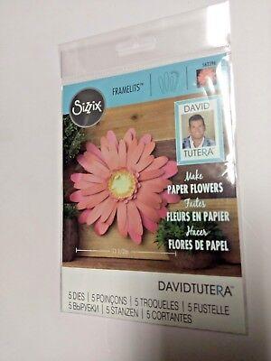 Sizzix Framelits Dies Large Daisy 5 Dies 562396 By David Tutera New