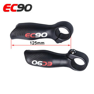 Bicycle Full Carbon Handlebar End 3K Matte Mountain Bike Cyclocross Bar End