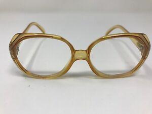 Christian-Dior-Sunglasses-2035-80-54-14-130-Yellow-Translucent-Germany-F450