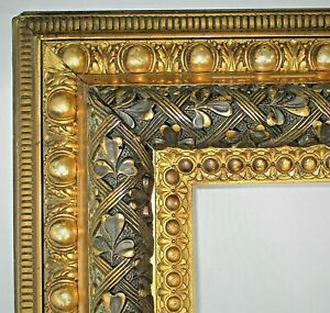BIG-FITS-30-25-034-X-25-25-034-GOLD-GILT-ORNATE-WOOD-PICTURE-FRAME-FINE-ART-VICTORIAN