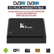 K1 Plus +T2 S2 Android 5.1 S905 Quad core 8GB Tv Box DVB-S2 DVB-T2 1080P 4K V3M0