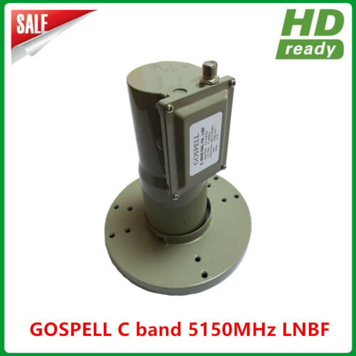 Digital Ready PLL type C band single output dual polarity LNB for satellite TV