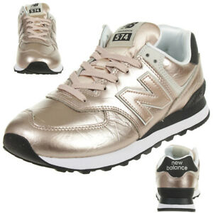 Details about NEW Balance WL574 who Classic Sneaker Womens Shoes Metallic  Rose Gold- show original title