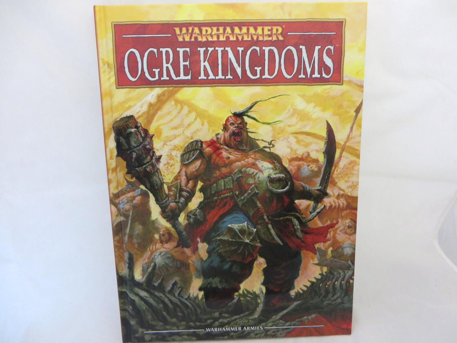 Warhammer Ogre Ogre Ogre Kingdoms army book codex oop hardcover 9dc89b