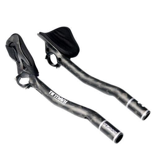 U Full Carbon Fiber Triathlon Time Trial TT Aero Bars Aerobars Extensions 31.8mm