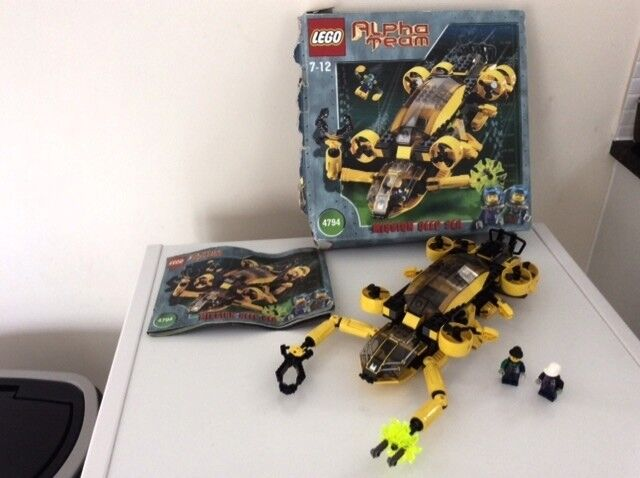 LEGO Alpha Team 4794 Boxed including Manual and mini figures