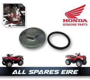 Image Is Loading OEM HONDA QUAD ATV DIFFERENTIAL FILLER CAP TRX
