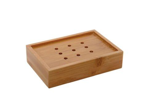 Evideco Bathroom Bamboo Ecobio Soap Dish Cup Wood Brown …
